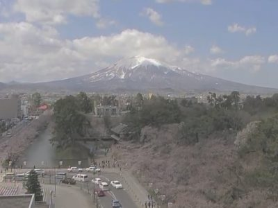 弘前公園桜まつりのライブカメラ 開花状況や見頃