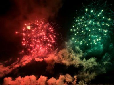 やつしろ全国花火競技大会の駐車場情報【2019】