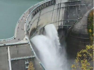 黒部ダム、黒部川のライブカメラ