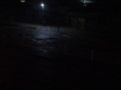いわき市の宮川が氾濫 内郷駅付近で冠水被害 10/25