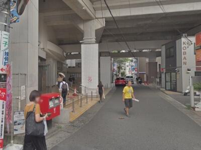 二子新地駅付近の安い駐車場
